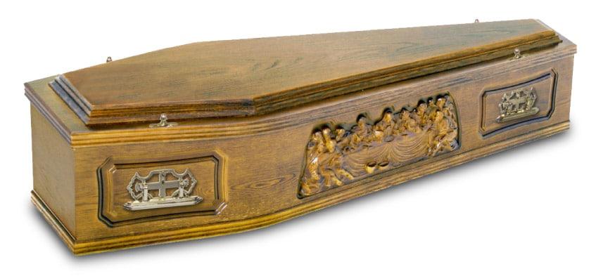 veneer coffin