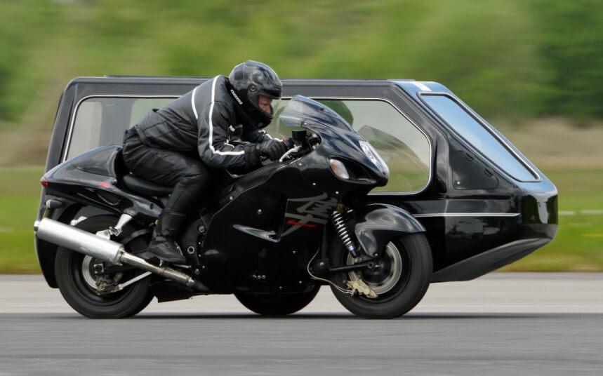 suzuki hayabusa motorcycle hearse