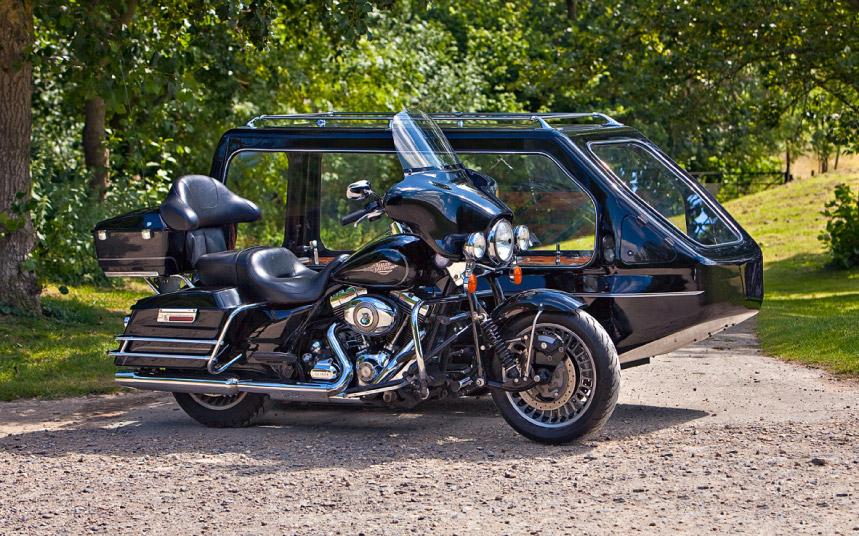 Motor Bike Hearse
