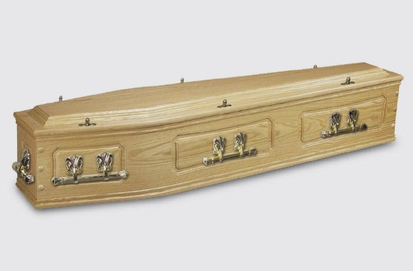 Solid Oak Coffins