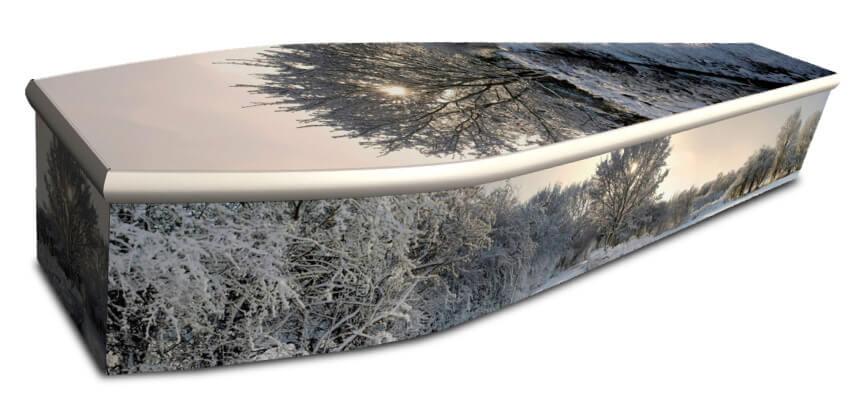 custom image coffin