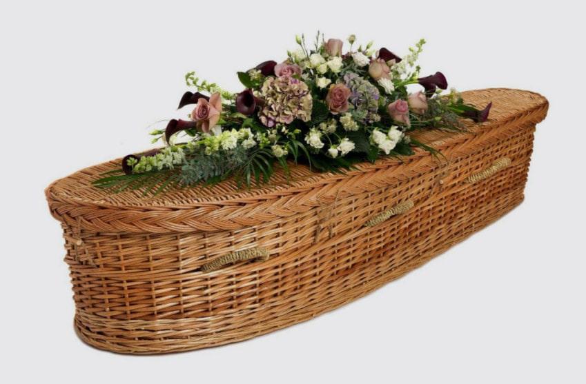 Wicker Coffins