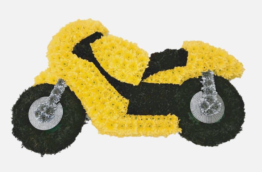 Flower Arrangements Motorbike