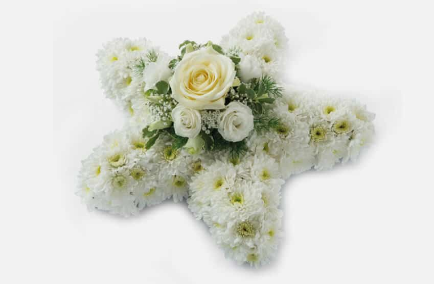 Bespoke Floral Tributes Tributes and Funeral Flower Arrangements Star