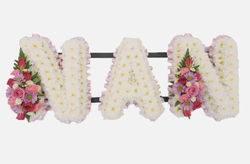 Funeral Flower Arrangements Nan