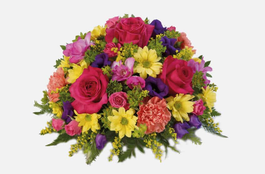 Floral Funeral Posies and Baskets