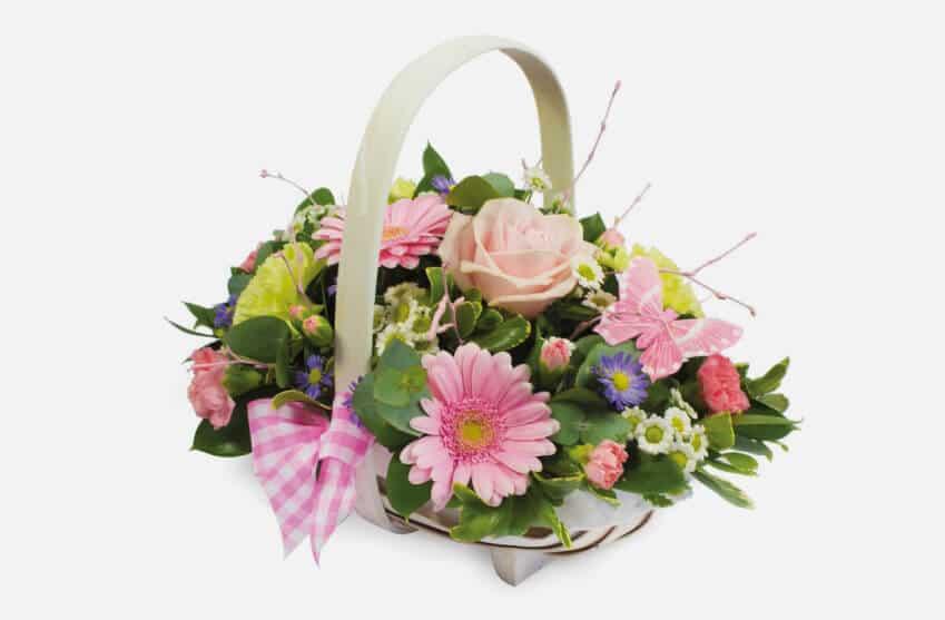 Floral Funeral Baskets