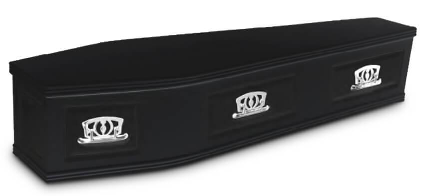 Longdon Oak Veneer coffin
