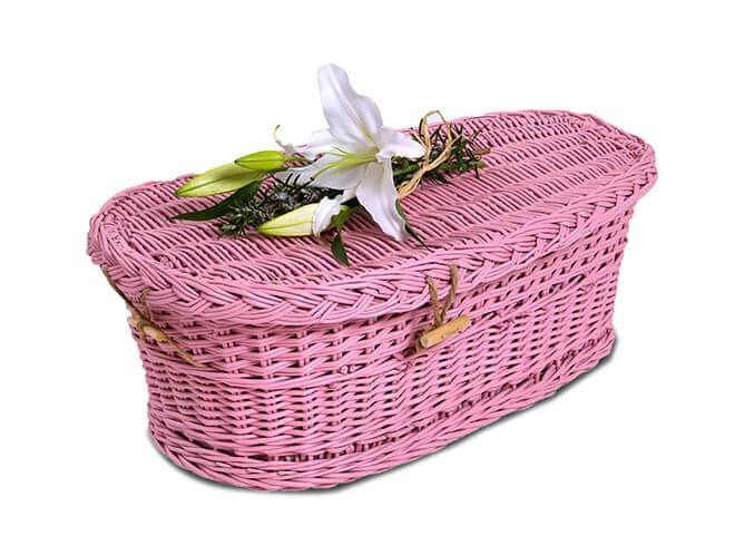 baby coffine pink